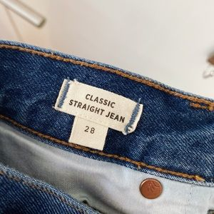 MADEWELL | Classic Straight Jean